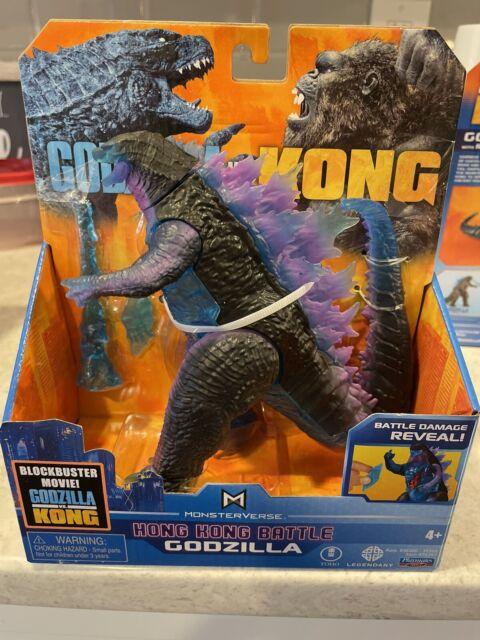 """New Godzilla VS Kong HONG KONG BATTLE GODZILLA -  6"""" Figure MONSTERVERSE"""