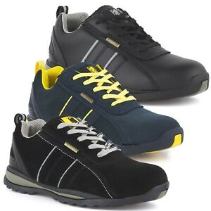UK Safety Shoes for Mens Womens Steel Toe Trainers Lightweight Work Shoes UK3-11