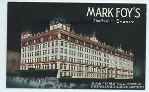MARK-FOY-039-S-LTD-new-store-night-Liverpool-Castlereach-Sydney-Australia-postcard