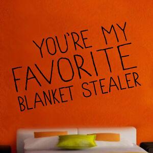 Couverture Favorite Stealer Autocollant Mural Vinyle Amour Art Décoration Chambre (rom18)-afficher Le Titre D'origine