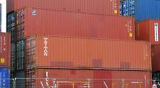 Used 40 Dry Van Steel Storage Container Shipping Cargo Conex Seabox New Orleans