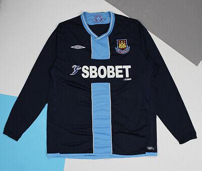 West Ham United 2009 - 2010 Away Jersey Shirt #4 Long ...