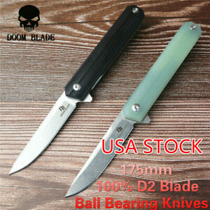 Ball-Bearing-Knives-Folding-Knife-G10-Handle-Camping-Knife-Hunting-Hiking-Fishin