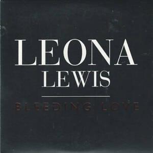 Leona Lewis Bleeding Love CD Sony BMG Music Entertainment 2007