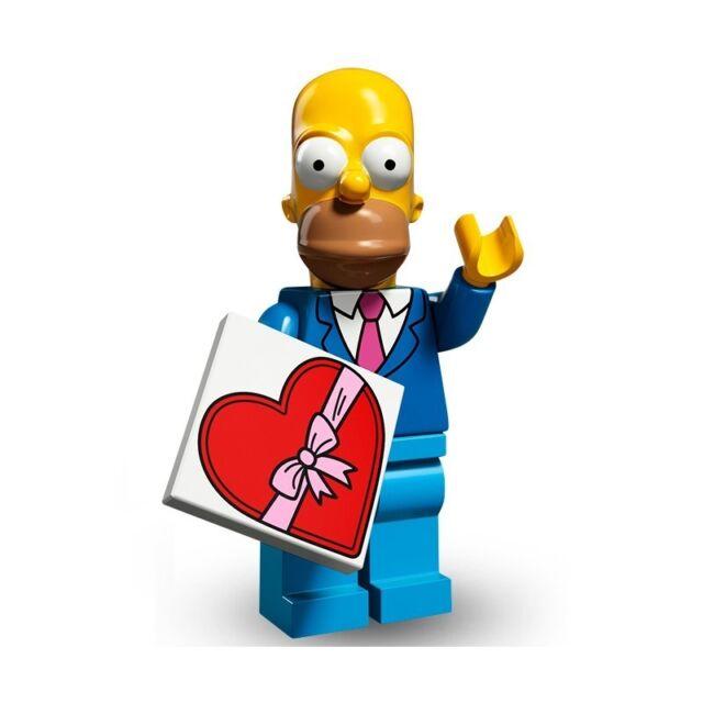 Lego Minifigures-Simpsons Série 2-Nº 5 Bart Simpson Neuf Scellé Bartman