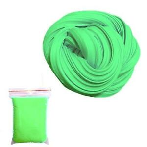 FLUFFY FOAM SLIME CHILDREN FUN CLAY SOFT LEARNING GREEN PLASTICITY NEW SOFT GIFT