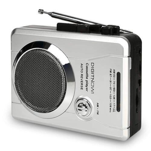 AM//FM Portable Walkman Radio and Voice Audio Cassette Recorder Cassette Player