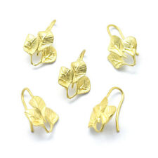 30x Gold-Filled Brass Big Earring Hooks Unfading French Earwire Nickel Free 44mm