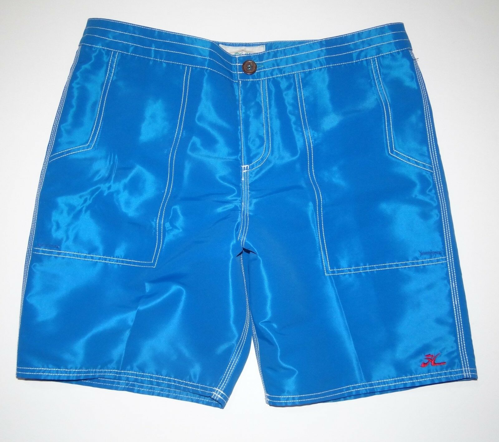 New Hobie by Hurley Mens Down Home 19  Surf Swim Boardshorts 32