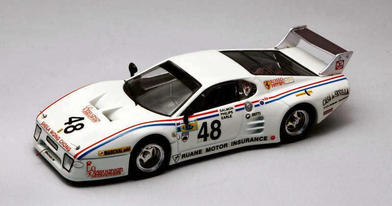Ferrari 512 Bb  48 Dnf Lm 1981 Phillips   Salmon   Earle 1 43 Model BEST MODELS
