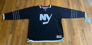 New York Islanders Reebok Premier Brooklyn Black Alternate Jersey Adult 3XL XXXL