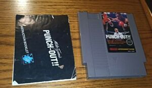 Mike Tyson's Punch-Out (Nintendo Entertainment System, 1987) with manual!