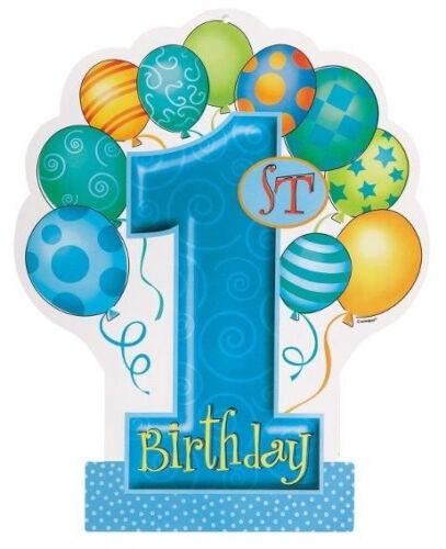 1st birthday balloons heat transfer iron on 2.5 to 5.5 inch
