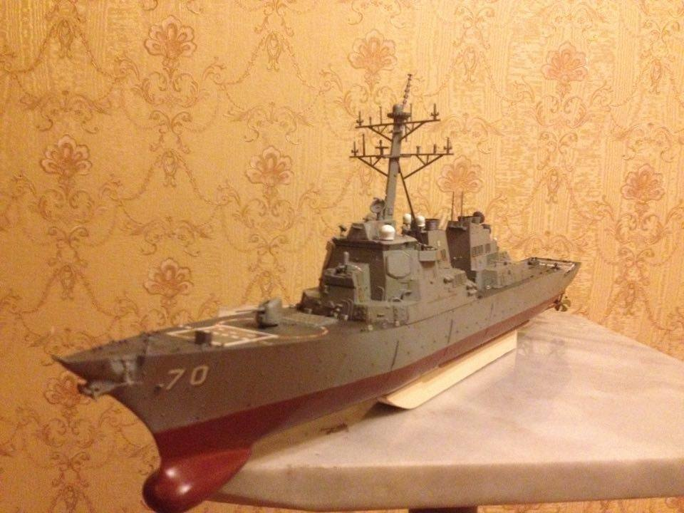 USS Arleigh Burke-class destroyer ship 1 350 complete model
