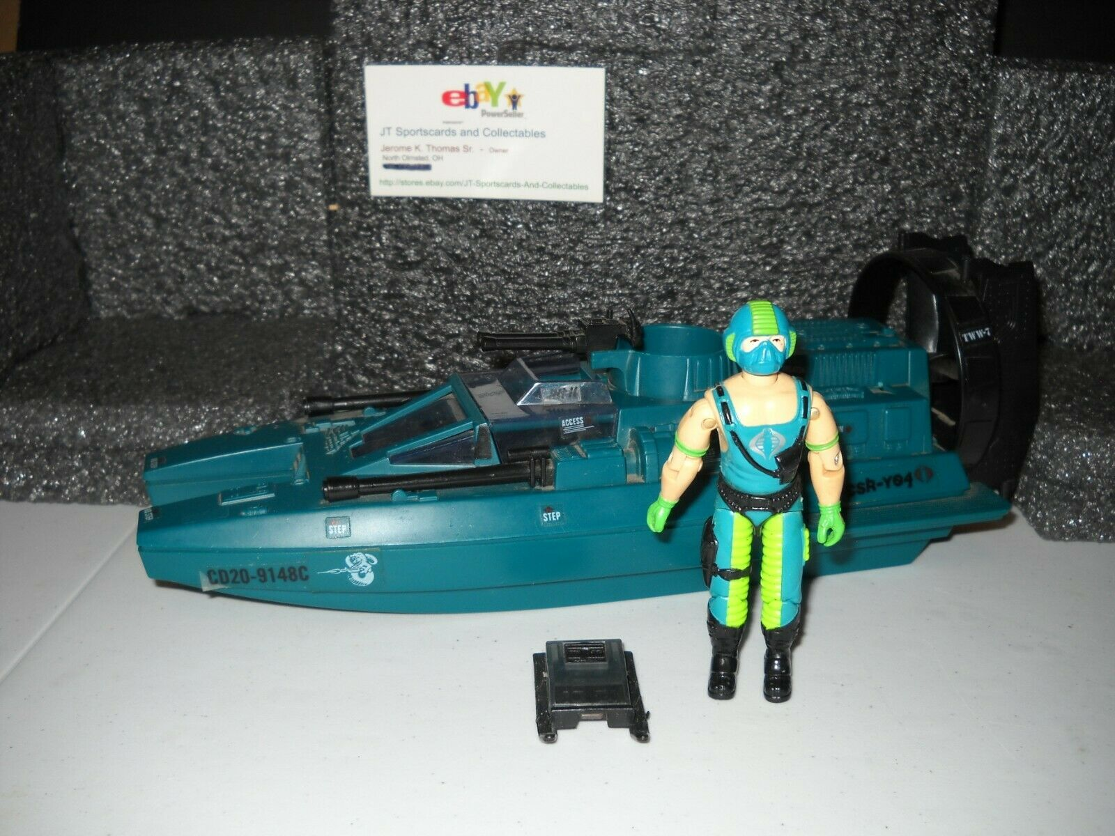 1984 Jahr GI JOE COBRA WATER MOCCASIN WITH COPPERHEAD V1 FIGURE