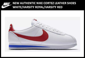 New-Authentic-Nike-Cortez-Leather-Women-039-s-size-6-Forrest-Gump