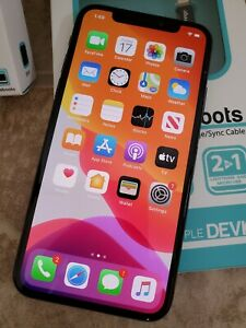 ** No Face ID ** Used Apple iPhone X 256GB Space Gray ...