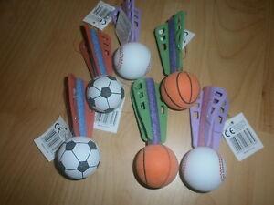 12 Softball-Wurfpfeile 10cm - Strandspielzeug - Mitgebsel für Kindergeburtstag