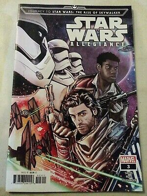 The Rise of Skywalker Allegience #4 Marvel 2019 VF//NM Journey to Star Wars