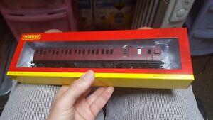 OO-Gauge-Hornby-R4691-BR-Non-Corridor-3rd-Brake-Coach-Crimson-Maroon-M20787M