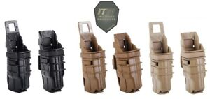 ITW FastMag GEN III Pistol Mag Pouch-MOLLE & Belt/Double Stack Versions