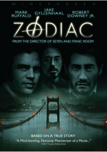 Zodiac (2007 Jake Gyllenhaal) DVD NEW