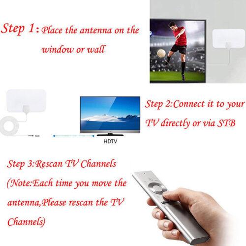 100 Mile Range Antenna TV Digital HD Skylink 4K Antena Digital Indoor HDTV 10 RF