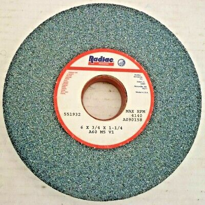 AB1963-1 RADIAC 8X1//2X1-1//4 32A60 GRINDING WHEEL