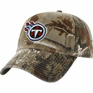 official photos b6ffd e8ca3 Image is loading Tennessee-Titans-039-47-Brand-Realtree-Clean-Up-