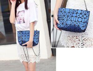 Bao Bao Bag With Logo Matte Geometric Package Tote BaoBao Shoulder Bag Crossbody