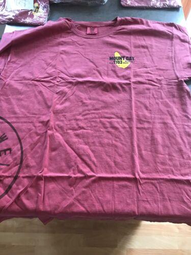Mount Gay Rum T Shirt NWOT Sailing Regatta Barbados