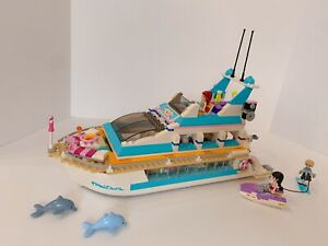 Lego Friends Dolphin Cruiser (41015) 100% COMPLETE with ...