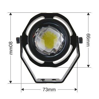 10W COB LED Eagle Eye Car Motor Light Daytime Running DRL Tail Backup Light