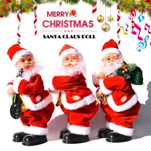 Electric-Santa-Claus-Twist-Hip-Singing-Dancing-Doll-Christmas-Gift-Tree-Decor