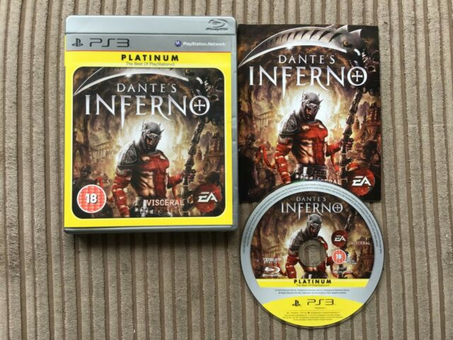 Playstation 3 Dantes Inferno Platinum Edition Sony Videogames