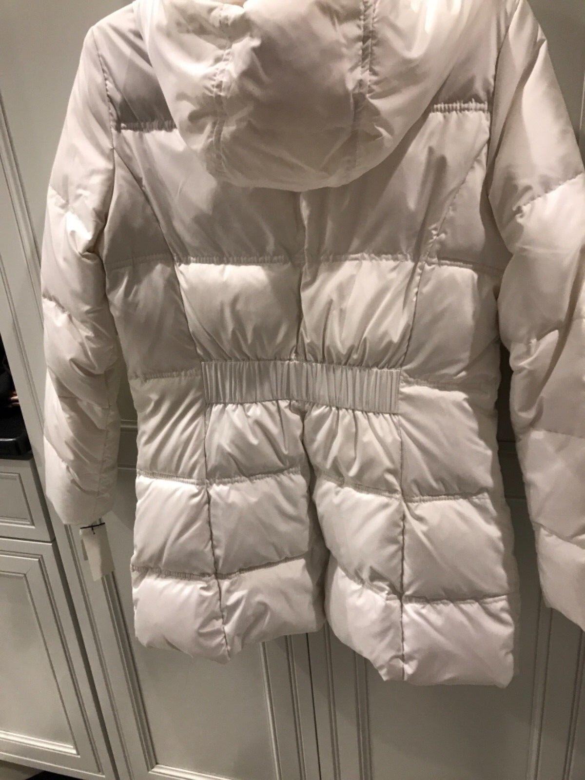 Andrew Marc New York Winter Coat Hood White Medium Medium Medium retail  250 575d79