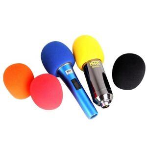 5pcs microphone windscreen sponge foam wind shield pop filter mic cover ebay. Black Bedroom Furniture Sets. Home Design Ideas