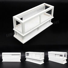 1:12 Miniature White Display Bakery Shop Cabinet Counter ShowCase Dollhouse Gift