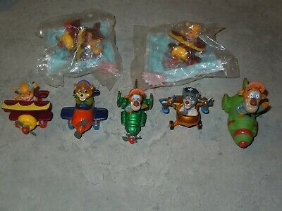 1989 TaleSpin McDonalds Happy Meal Toys Complete Set of 4 Disney Vintage Planes