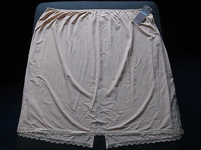 "Slips M&s 'cool Comfort' Cling Resistant Waist Slip Uk22 L26"" W41"" H50"" Natural Bnwt Sale Overall Discount 50-70%"