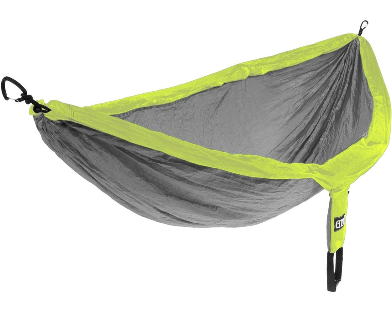 Eno Nest Eagle Nest Eno Outfitters Doublenest parachute hammock Gris/Fluo f73262