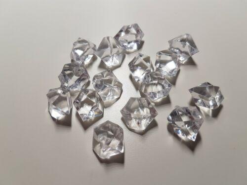 cristal crystal gemmes accessoire de jeu lot de 15 blanc Pion ressource