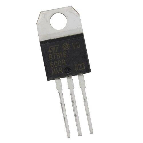 10PCS nuevo BTB16-600B BTB16-600 St TO-220 Triac 600V 16A