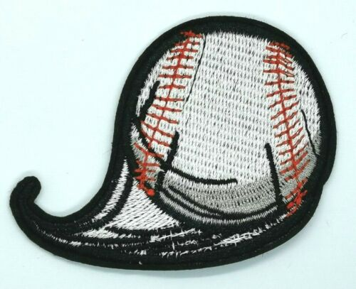 BASEBALL PATCH EMBROIDERED new IRON-ON APPLIQUE SPORTS HIGH SPEED  #1798