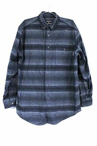 WOOLRICH-Heather-Chamois-Flannel-Shirt-L-TALL-Camp-100-Cotton-Various-Colors