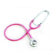 EMT Medical First Aid Training Pro Dual Head Stethoscope Nurse Doctor Vet Pink