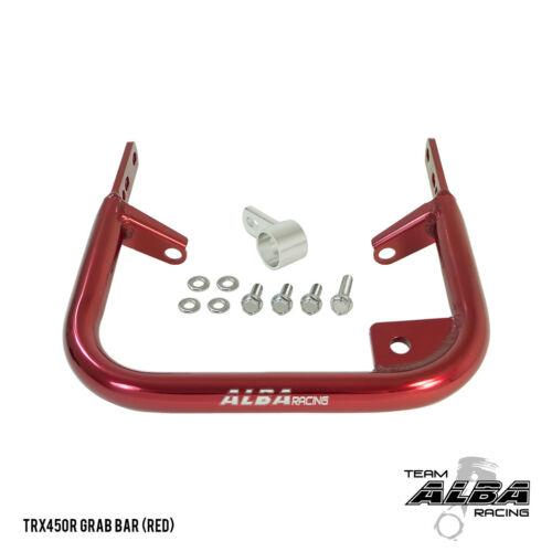 Honda TRX  250R  88-89  Rear Grab Bar  Bumper  Alba Racing  Red     218 T5 R