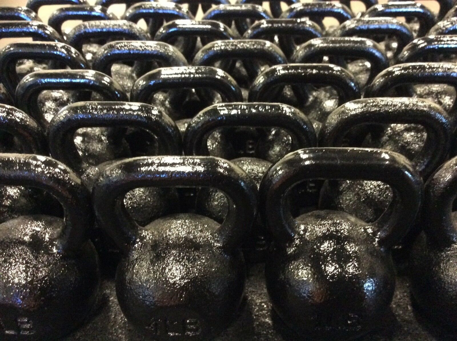 1 lb. Mini Kettlebells Solid Cast Iron 30 Pack