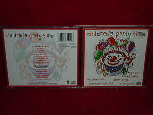 CHILDREN-039-S-PARTY-TIME-CD-15-TRACKS-1995