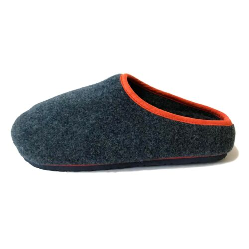 Mens Gents Comfort House Slippers Footbed Hard Sole Slip On Moccasins New Size
